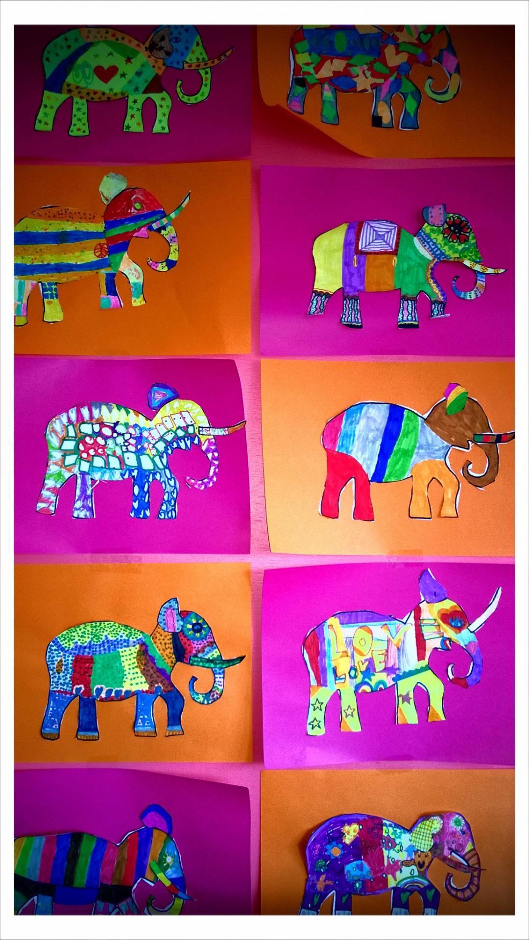 Elephants ce1