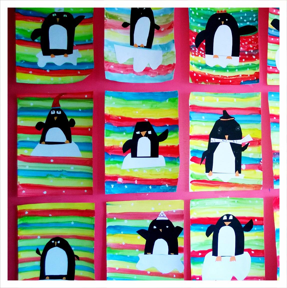 Pingouins ce1
